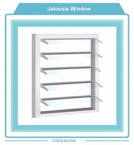 Jalousie-Window