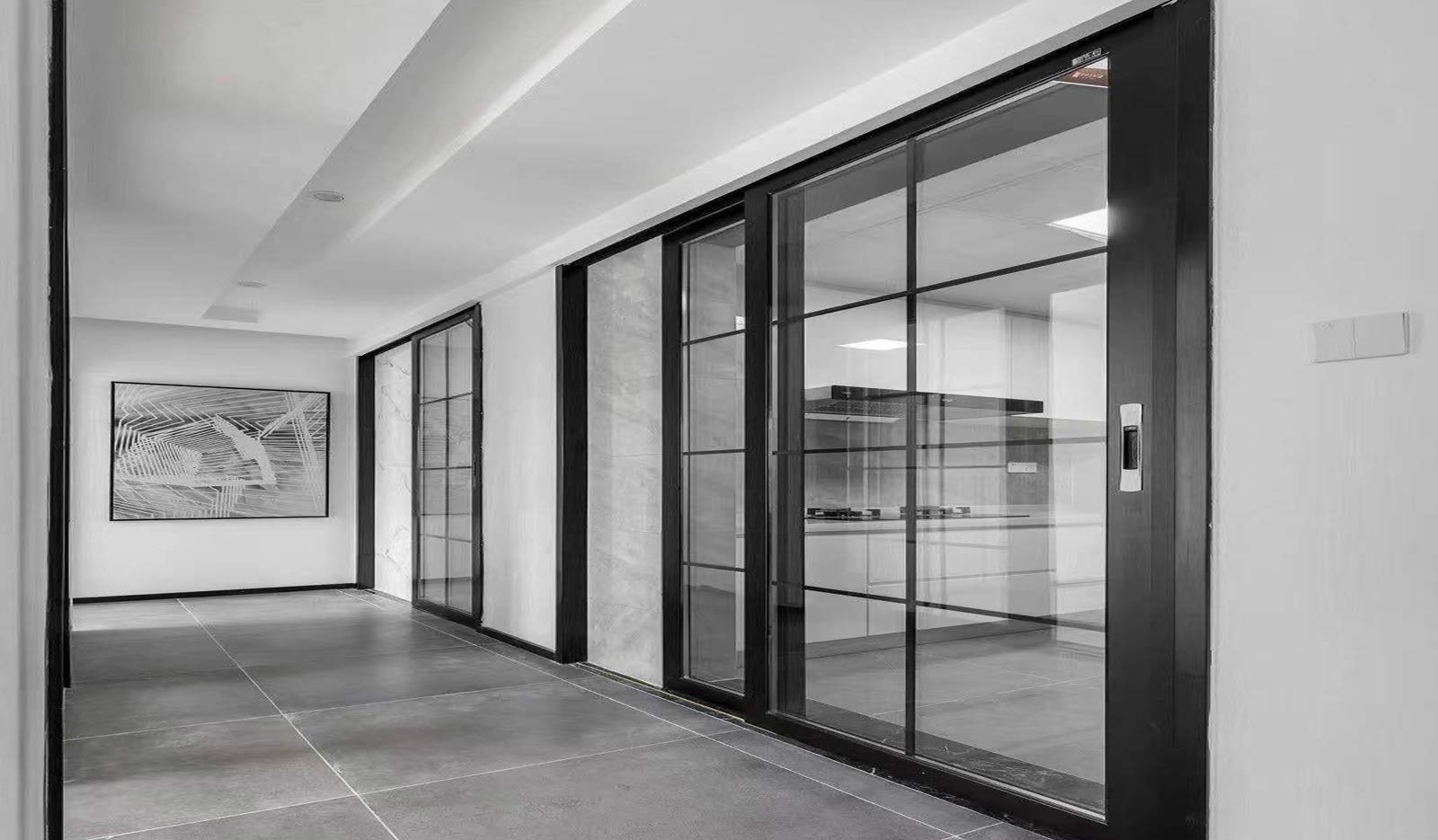 Balcony doors and windows will be more beautiful and practical if matched in this way